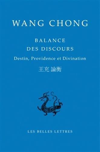 9782251100050: Balance des discours: Destin, providence et divination