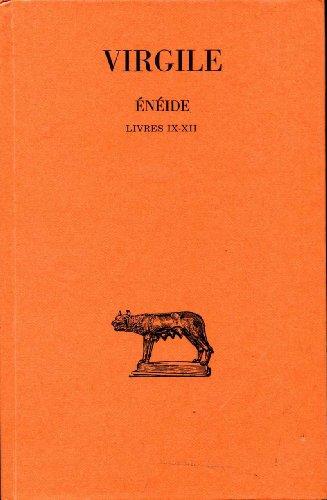 9782251113043: VIRGILE: ENEIDE LIVRES IX-XII.