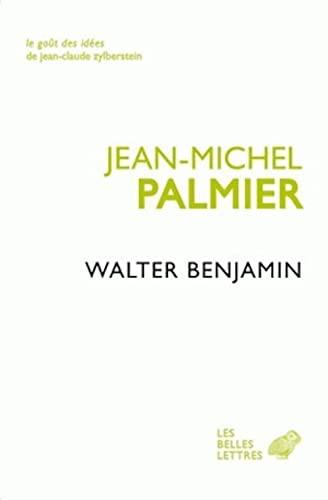 9782251200040: Walter Benjamin : Un itinéraire théorique (Le goût des idées)