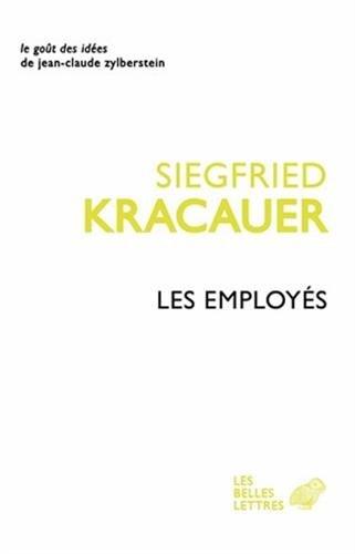 Employés (Les): Kracauer, Siegfried