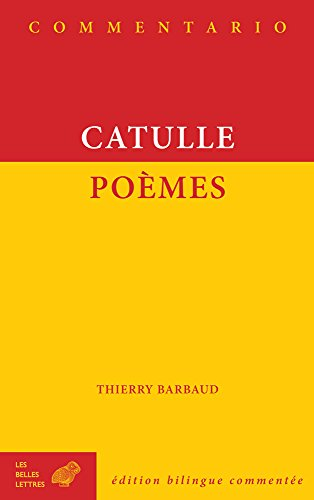 9782251240060: Catulle, Poemes (Commentario) (French Edition) (French and Latin Edition)