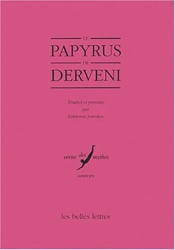 9782251324340: Le Papyrus de Derveni
