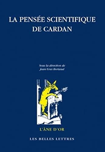 9782251420387: La pensée scientifique de Cardan (L'Ane D'Or) (French Edition)