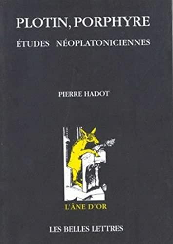 9782251420448: Plotin, Porphyre: Etudes Neoplatoniciennes (L'âne d'or)