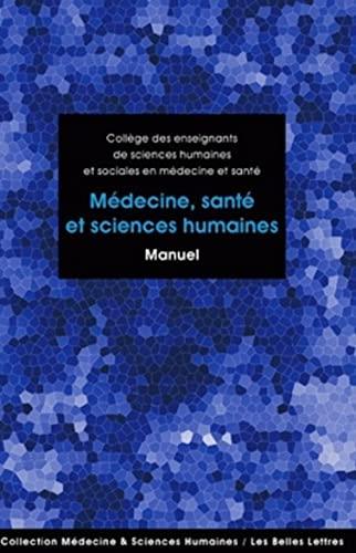 9782251430263: Médecine, santé et sciences humaines: Manuel