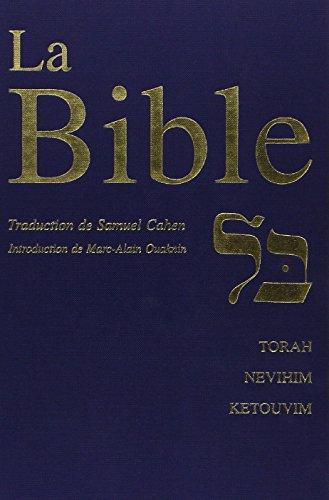 9782251440330: La Bible. (Torah, Nevihim et Ketouvim).