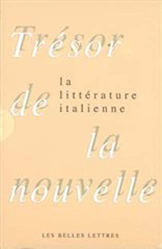 9782251442761: Tr�sor de la nouvelle de la litt�rature italienne en 2 volumes