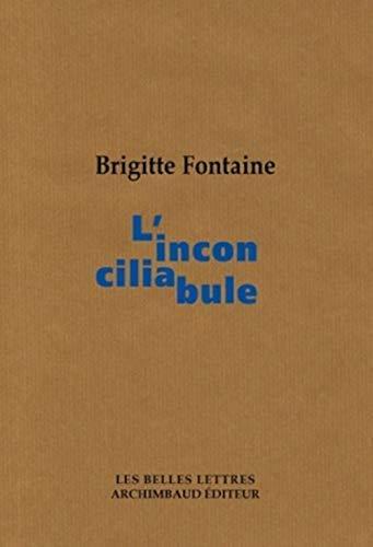 Inconciliabule (L'): Fontaine, Brigitte