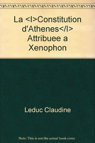 9782251601922: Constitution d'Athènes