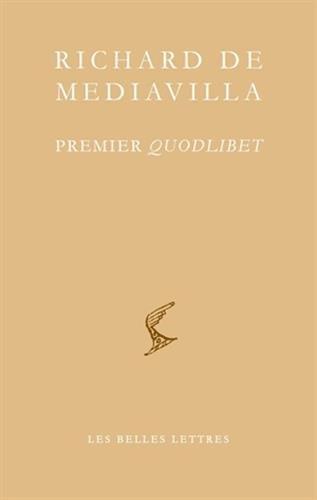 9782251610092: Premier Quodlibet (Bibliotheque Scolastique) (French Edition)