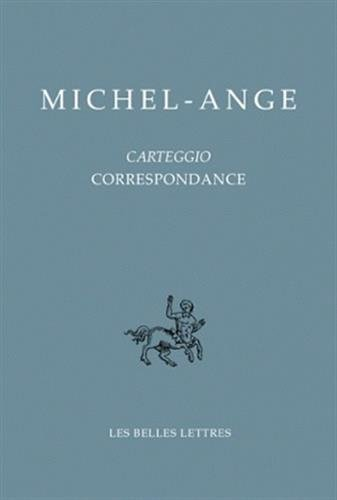 9782251730332: Carteggio / Correspondance (Bibliotheque Italienne) (French Edition)