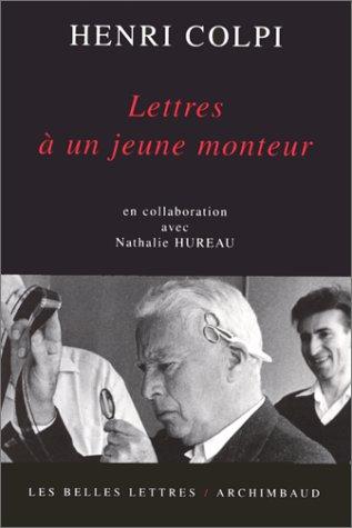 9782251752020: Lettres à un jeune monteur (Hors Collection)