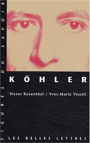 9782251760490: Kohler (Figures du savoir)
