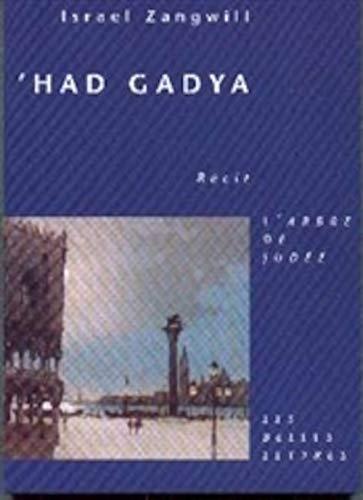 9782251780023: Had Gadya