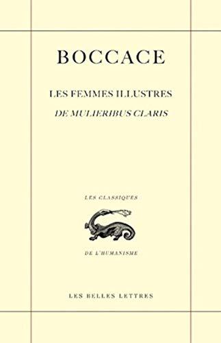 9782251801285: Les Femmes illustres / De Mulieribus claris