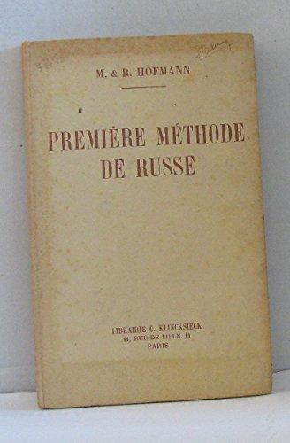 9782252001042: Premiere Methode de Russe. (Langues de l'Eu)