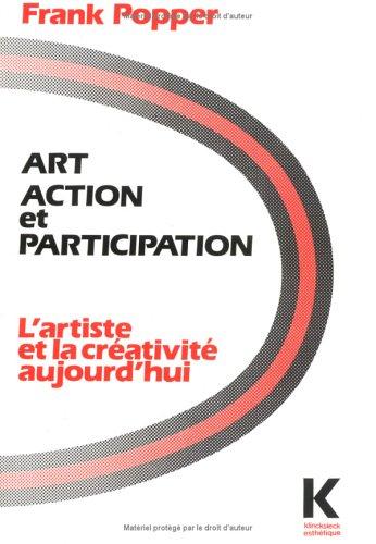 9782252025031: Art, action et participation: L'artiste et la créativité aujourd'hui