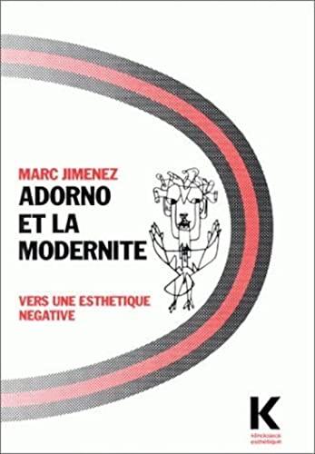 9782252025178: Adorno et la modernité