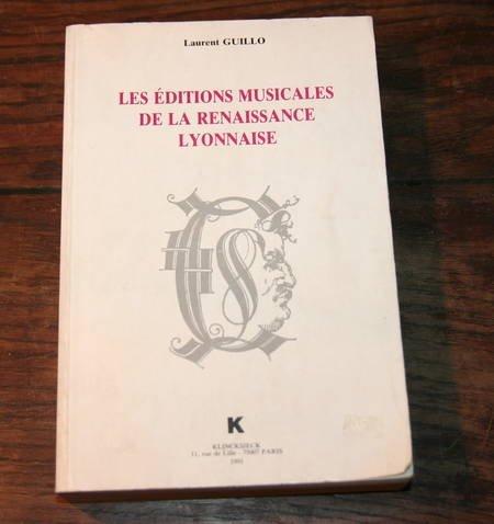 9782252027622: Les éditions musicales de la Renaissance lyonnaise (Domaine musicologique) (French Edition)