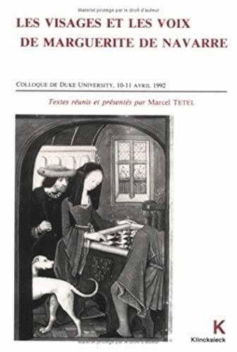 9782252029695: Les Visages et les voix de Marguerite de Navarre (Hors Collection Klincksieck) (French Edition)