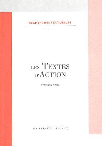 9782252031513: Les textes d'action