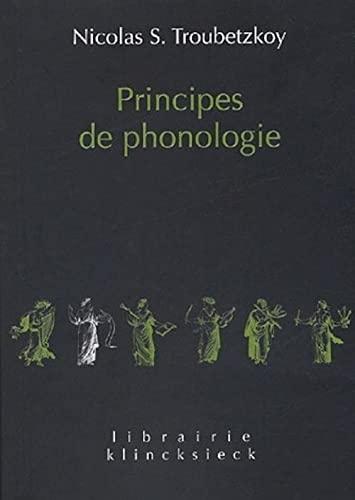 9782252034972: Principes de phonologie (Librairie Klincksieck - Serie Linguistique) (French Edition)