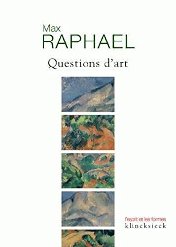 9782252036808: Questions d'art (L'esprit et les formes)