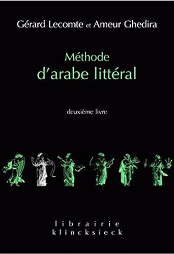 METHODE D ARABE LITTERAL T2: LECOMTE GHEDIRA