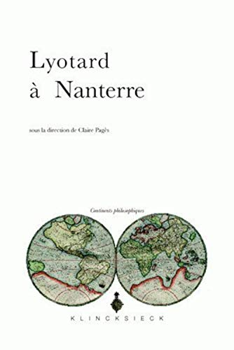9782252037744: Lyotard à Nanterre (Continents Philosophiques) (French Edition)