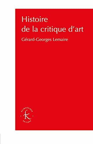 9782252041024: Histoire de la critique d'art