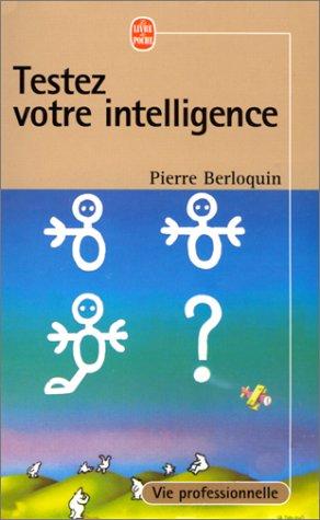 9782253001225: Testez votre intelligence