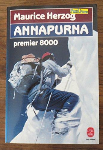 9782253001447: ANNAPURNA PREMIER 8000 (Le Livre de Poche)