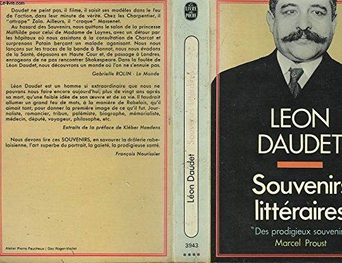 Souvenirs litteraires: Daudet Léon