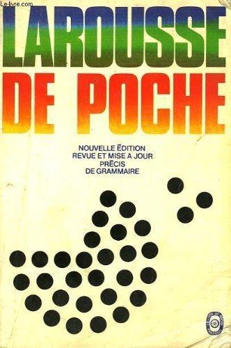 9782253003441: Larousse de poche: Précis de grammaire (French Edition)