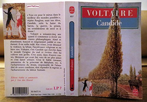 9782253004257: Candide et autres contes (Le Livre de Poche)