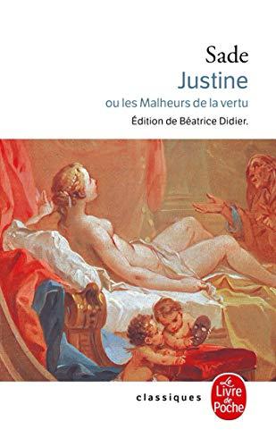 9782253007159: Justine Ou Les Malheurs de La Vertu (Ldp Classiques) (English and French Edition)