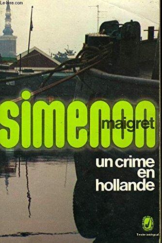 9782253010005: Un crime en Hollande