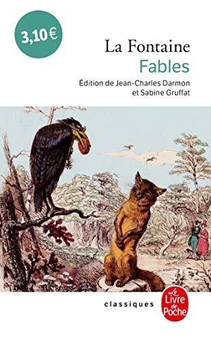 Fables (Classiques de Poche) (French Edition): De La Fontaine,