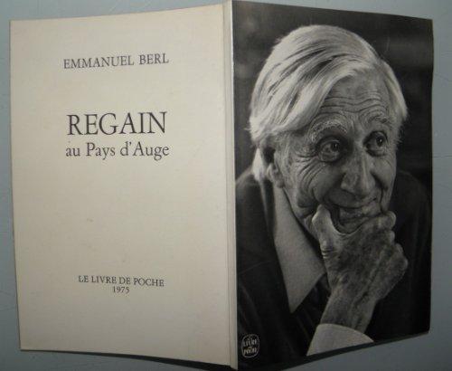 9782253011002: Regain au pays d'Auge (Le Livre de poche 4243) (French Edition)