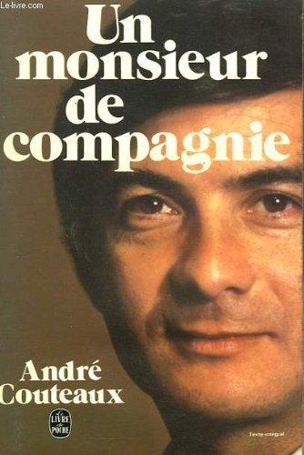 9782253011217: Un Monsieur de compagnie (Le Livre de poche)