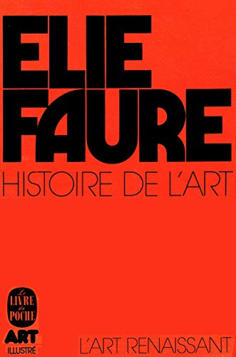 9782253014584: Histoire de l'art tome 3 : l'art renaissant