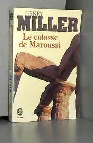 9782253020769: Le Colosse de Maroussi