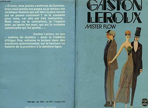 9782253021124: Mister Flow (Le Livre de poche ; 5208) (French Edition)