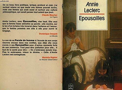 Epousailles: Annie Leclerc
