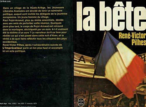9782253021735: La Bête (Le Livre de poche)