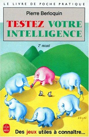 9782253021872: Testez votre intelligence