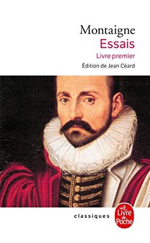 9782253028154: Montaigne - Essais, Livre premier