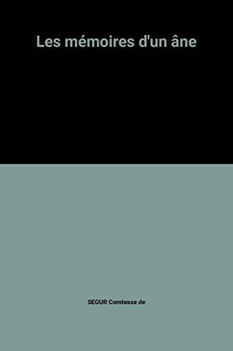 9782253029168: Les m�moires d'un �ne