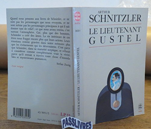 9782253035459: Le Lieutenant Gustel; L'Appel des ténèbres; Docteur Graesler