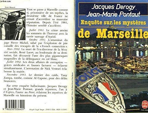 9782253036401: Enquête sur les mystères de Marseille